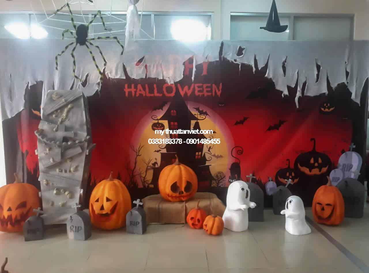 tieu canh halloween