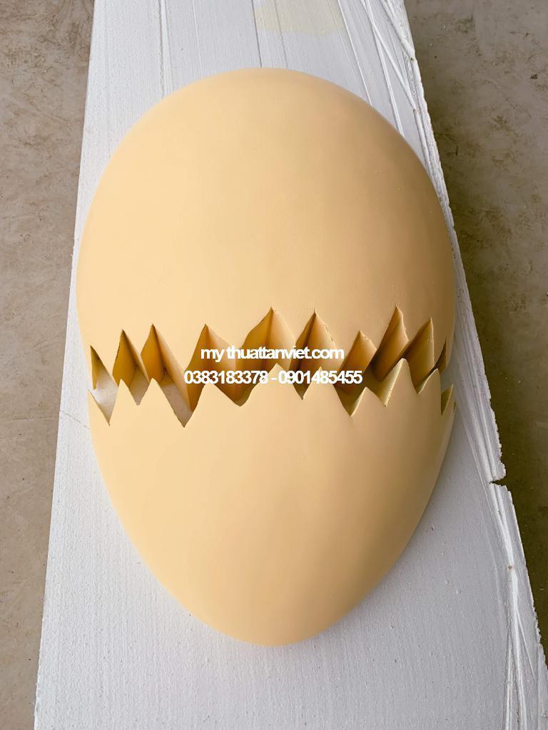 Mô Hình Mút Xốp Qủa Trứng