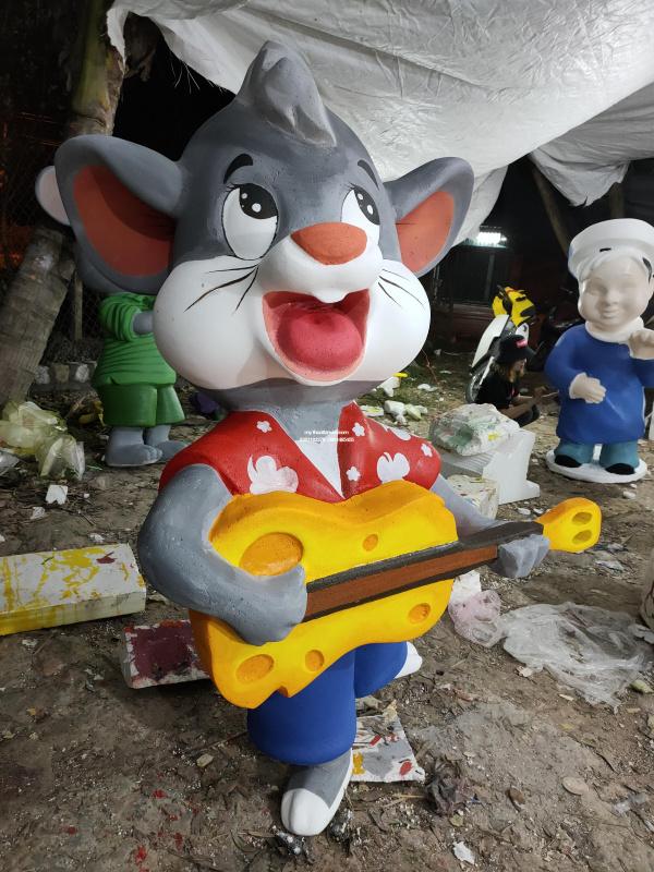 mô hình chuột tết