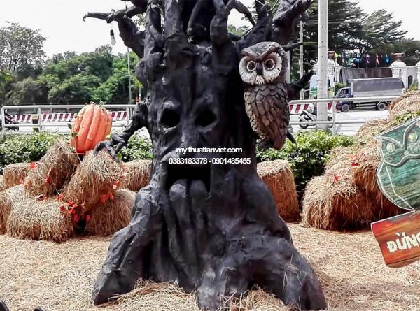 cây halloween