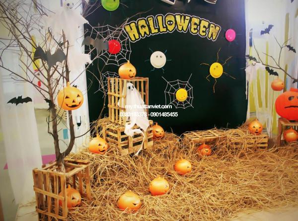tieu canh bi ngo halloween
