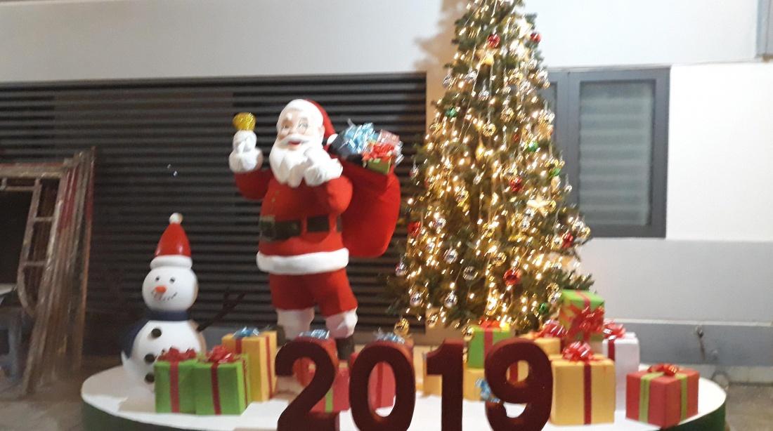 mô hình mút xốp Noel