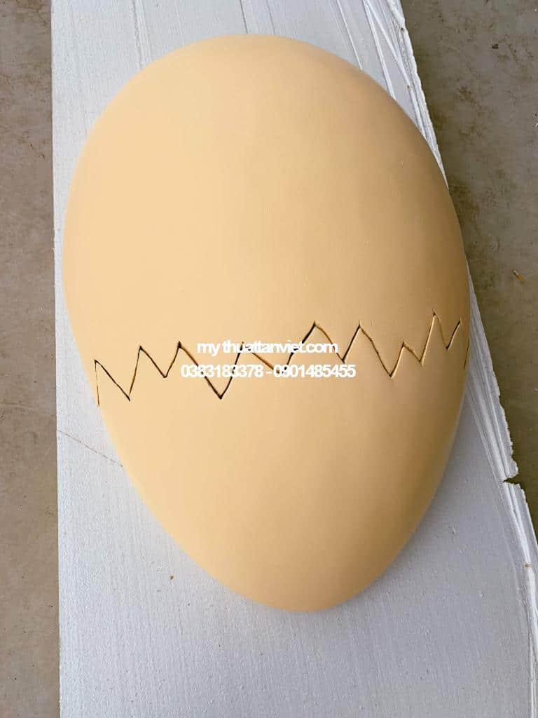 mo hinh mut xop quả trứng