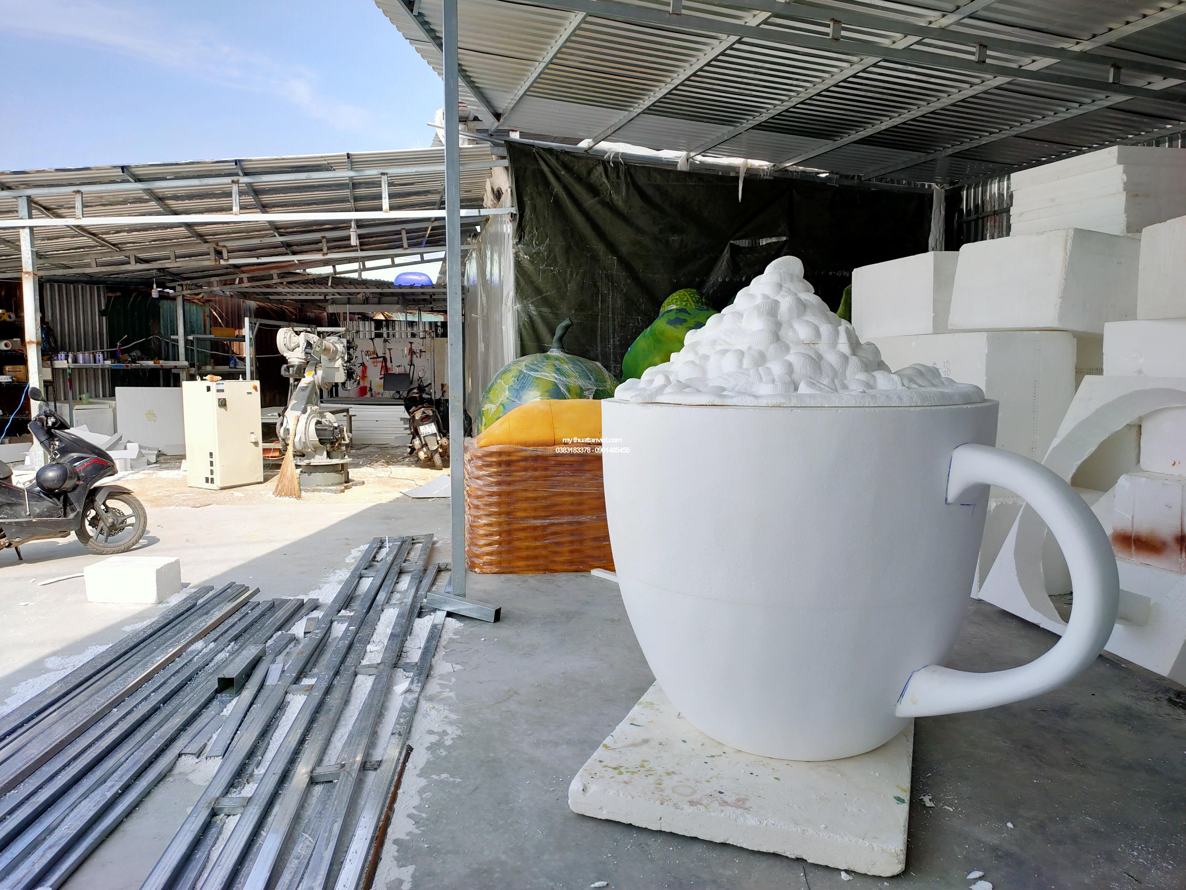 mo hinh ly cafe