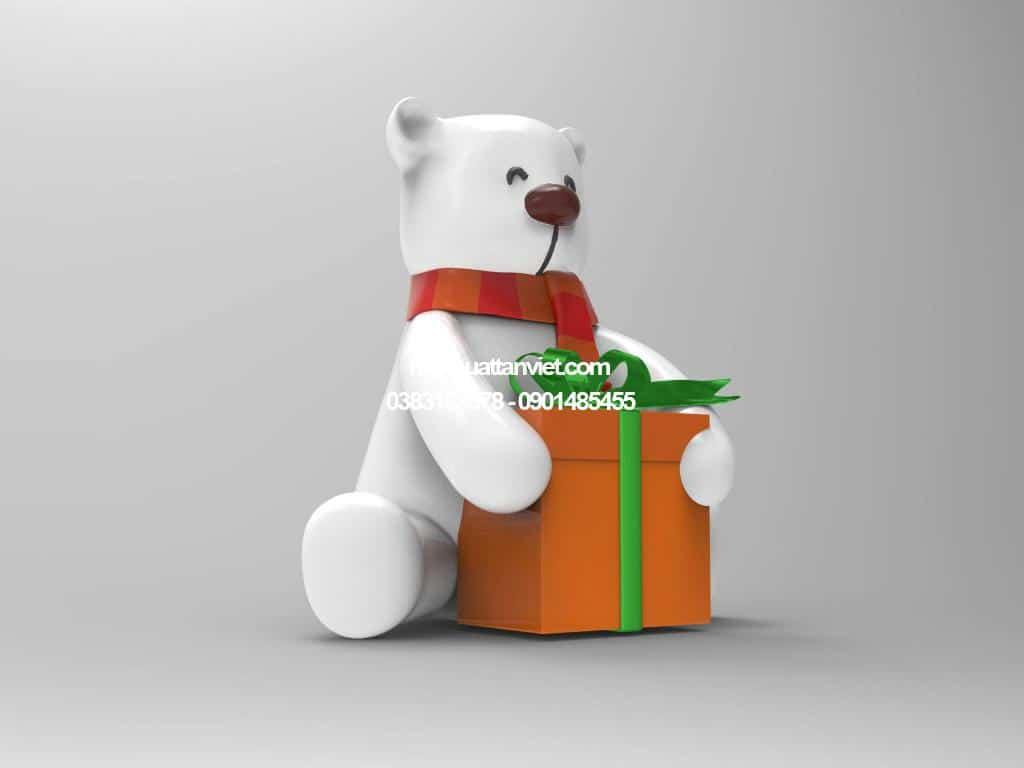 gấu 3d