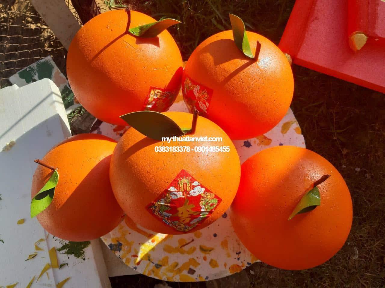 mô hình xốp trái cây