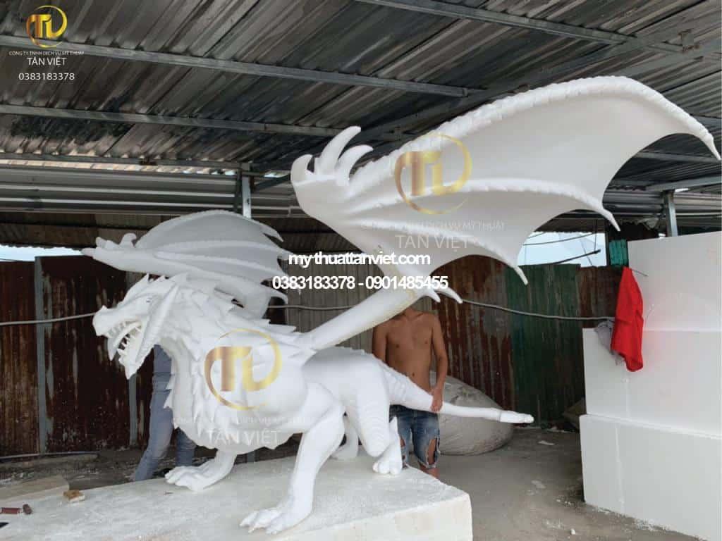 mô hình rồng 3D