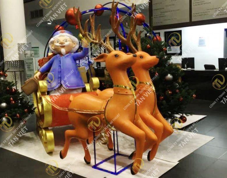 Mo hình con hưu Noel