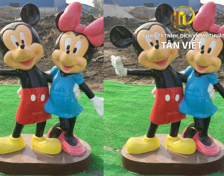 Mô hình chuột mickey